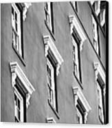 Mill House Windows Canvas Print by John Rizzuto