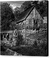 Mill - The Mill Canvas Print by Mike Savad