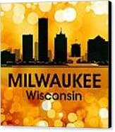 Milwaukee Wi 3 Canvas Print by Angelina Vick