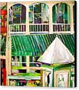 Mimihane's On Main Canvas Print by Carol Mangano