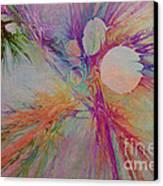 Mind Energy Aura Canvas Print by Deborah Benoit