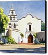 Mission San Diego De Alcala Canvas Print by Mary Helmreich