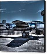 Mitchell B-25j Canvas Print by Tommy Anderson