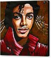 MJ Canvas Print by RiA RiA