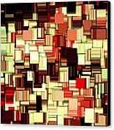 Modern Abstract Art Xvii Canvas Print by Lourry Legarde