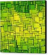 Modern Abstract Xxxiii Canvas Print by Lourry Legarde