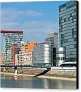 Modern Architecture Canvas Print by Hans Engbers