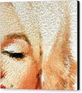 Modern Marilyn - Marilyn Monroe Art By Sharon Cummings Canvas Print by Sharon Cummings