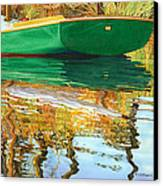 Moment Of Reflection Xi Canvas Print by Marguerite Chadwick-Juner