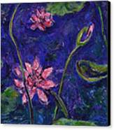 Monet's Lily Pond I Canvas Print by Xueling Zou