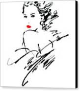 Monique Variant 1 Canvas Print by Giannelli