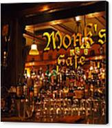 Monks Cafe Canvas Print by Rona Black