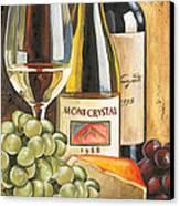 Mont Crystal 1988 Canvas Print by Debbie DeWitt