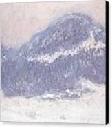 Mont Kolsaas Canvas Print by Claude Monet