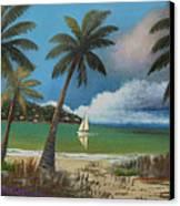 Montego Bay Canvas Print by Gordon Beck