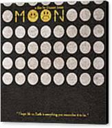 Moon Canvas Print by Ayse Deniz