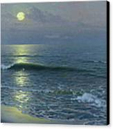 Moonrise Canvas Print by Guillermo Gomez y Gil