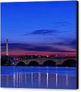 Morning Along The Potomac Canvas Print by Metro DC Photography