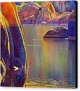 Morning Glow Canvas Print by Robert Hooper