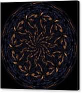 Morphed Art Globes 14 Canvas Print by Rhonda Barrett