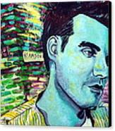 Morrissey Canvas Print by Kat Richey