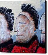 Mortalis No. 11 Canvas Print by Mark M  Mellon