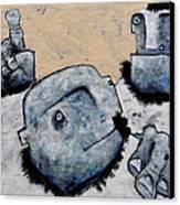 Mortalis No 9 Canvas Print by Mark M  Mellon