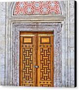 Mosque Doors 04 Canvas Print by Antony McAulay