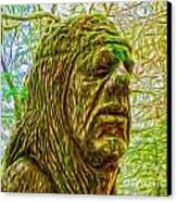 Moss Man - 02 Canvas Print by Gregory Dyer