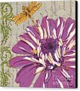 Moulin Floral 2 Canvas Print by Debbie DeWitt