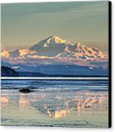 Mount Baker North Cascades National Park Canvas Print by Pierre Leclerc Photography