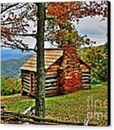 Mountain Cabin 1 Canvas Print by Dan Stone
