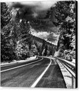 Mountain Highway Canvas Print by Mick Burkey