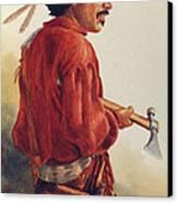 Mountain Man Canvas Print by Randy Follis