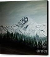 Mountain Range Canvas Print by Erik Coryell