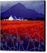 Mountain View  Canvas Print by John  Nolan