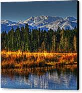 Mountain Vista Canvas Print by Randy Hall