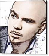 Mr 305 Canvas Print by Cheryl Young