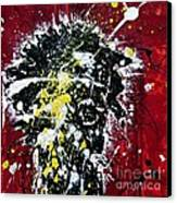 Mr. Nobody Canvas Print by Ismeta Gruenwald