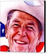 Mr.president 2 Canvas Print by Steve K