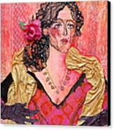 Mrs. Dedlocke Canvas Print by Diane Fine