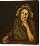Mrs. Zackaharia Canvas Print by C Michael French