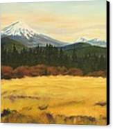 Mt. Bachelor Canvas Print by Donna Drake