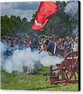 Mt Vernon Cannon Fire 4th Of July Canvas Print by Jack Nevitt