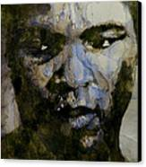 Muhammad Ali  A Change Is Gonna Come Canvas Print by Paul Lovering