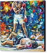 Muhammad Ali Canvas Print by Leonid Afremov