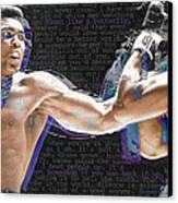 Muhammad Ali Canvas Print by Tony Rubino