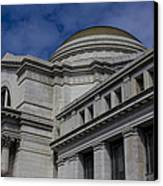 Museum Of Natural History Canvas Print by Andrew Pacheco