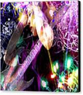 Musical Lights Canvas Print by Mechala  Matthews