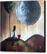 My Bff By Shawna Erback Canvas Print by Shawna Erback